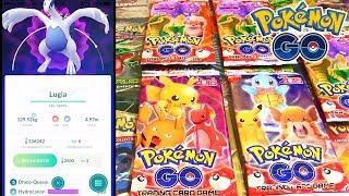 Ouverture fake booster Pokémon GO 2018 ! Gameplay Pokémon GO Raid pokémon légendaire Lugia ! DavidLafargePokémon...