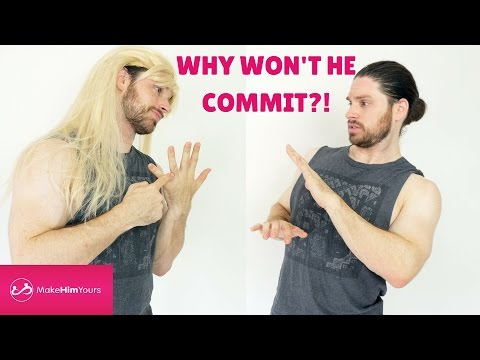 Why A Guy Won't Commit To You