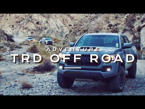 Toyota TRD Pro Off Road Adventure in Joshua Tree