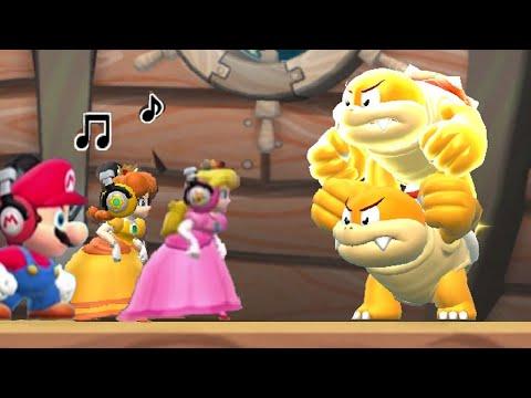 Super Mario Run - All Bosses