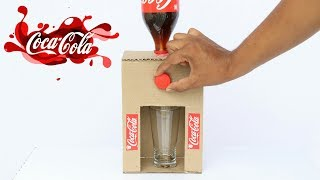 Video How to Make Coca Cola Fountain Machine From Cardboard at Home MP3, 3GP, MP4, WEBM, AVI, FLV Mei 2019