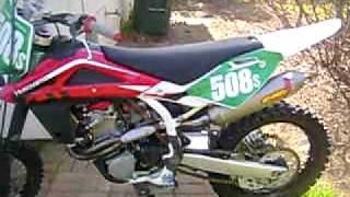 8. 2009 Husqvarna TC510