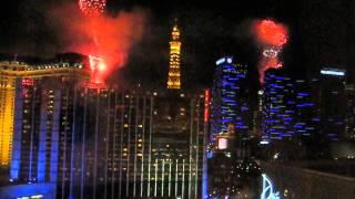 Las Vegas New Year Fireworks 2015