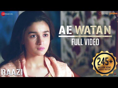 Ae Watan - Full Video | Raazi | Alia Bhatt | Sunidhi Chauhan | Shankar Ehsaan Loy | Gulzar