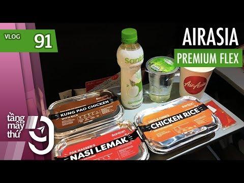 [M9] #91: Bay Maldives với hạng Premium Flex của AirAsia | Yêu Máy Bay - Thời lượng: 15 phút.