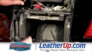 8. Kuryakyn Trailer Hitch for Honda GL1800 Gold Wing Installation - LeatherUp.com
