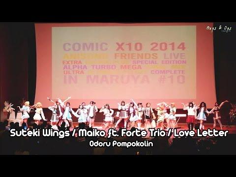 Maruya #10 – Suteki Wings / Maiko ft. Forte Trio / Love Letter – Odoru Pompokolin