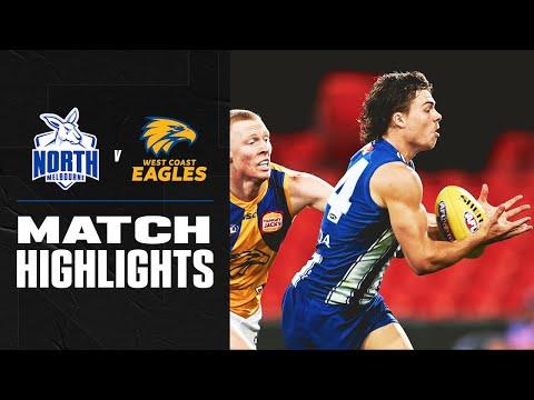 North Melbourne v West Coast Highlights | Round 18, 2020 | AFL