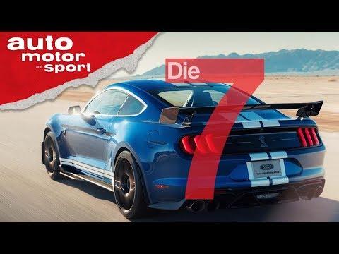 Ford Mustang Shelby GT500 (2019) - stärker als der Ford G ...