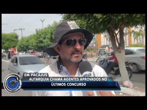 Em Pacajus- CE/ Novos agentes de trânsito tomam posse