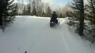 Grand Marais (MN) United States  city photos gallery : Snowmobiling In Grand Marais, MN.. Part 1