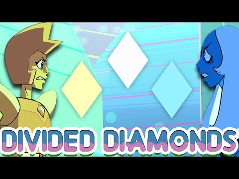 The Diamond Cold War: Yellow vs Blue [Steven Universe Theory] Crystal Clear