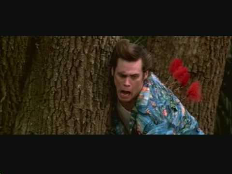 funny scene Ace Ventura When Nature Calls