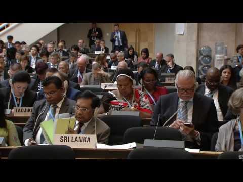WHO: WHA69 - Speech in Arabic by Dr Ahmed bin Mohammed al-Saidi, President of WHA 2016