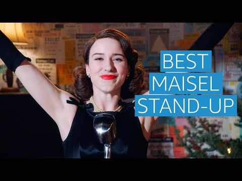 The Marvelous Mrs Maisel | Funniest Stand Up Comedy Scenes Compilation | Prime Video