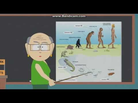 South Park - Mr.Garrison's Evolution Theory