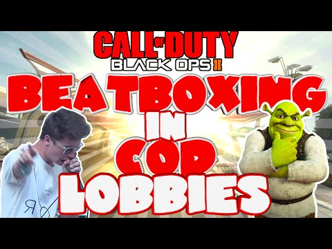 'BEATBOX BATTLE' - BEATBOXING IN COD LOBBIES EP.30 (BLACK OPS 2)
