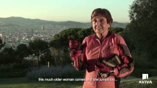 http://www.livesfulloflife.com Montse made her first parachute jump when she was 49. Now 80, she's clocked up nearly 1000 ...