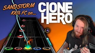 Video DARUDE ~ Sandstorm 100% FC but it's played on a free fan made Guitar Hero clone MP3, 3GP, MP4, WEBM, AVI, FLV Maret 2018