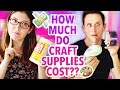 How Much Do Craft Supplies Cost  Feat Josh Sundquist   Karenkavett
