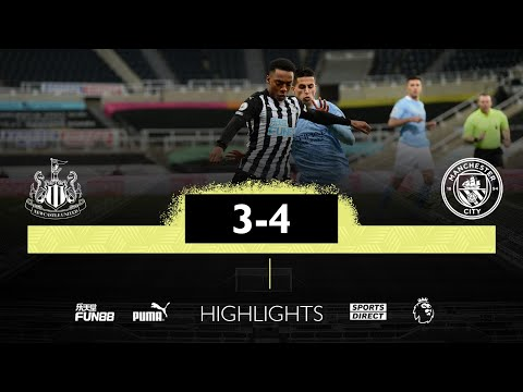 Newcastle United 3 Manchester City 4 | Premier League Highlights