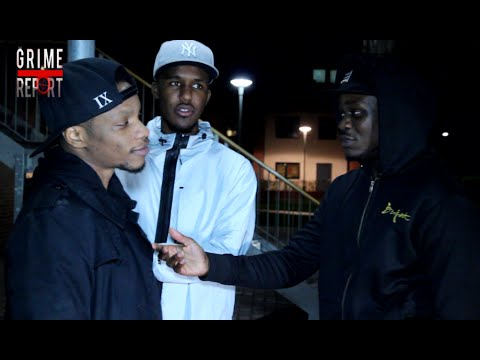 YOUNGS TEFLON, NOVELIST & A SQUEEZY | BEHIND THE SCENES AT 'HEAVYTRACKERZ' VIDEO @TheGrimeReport