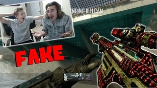 REACTING TO MY FAKE CLIPS WITH RED LEADER!!!