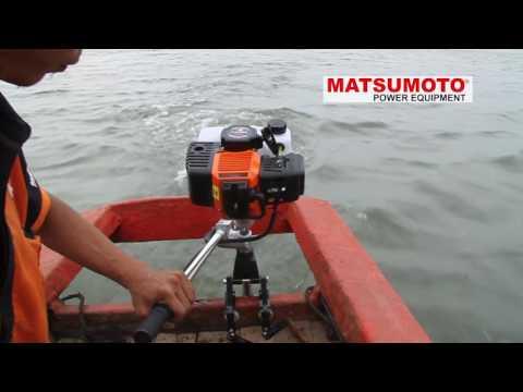 MESIN OUTBOARD MOTOR / MESIN TEMPEL MATSUMOTO MOB-830G