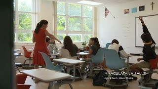 See how Immaculata LaSalle High School is enhancing the student-teacher experience through immediate, targeted feedback. With the help of new educational technology, teachers at the Florida high school can identify student levels of understanding in real time and then adjust instruction to help students where they need it most. The results? Truly personalized learning, more engaged students, and better outcomes.