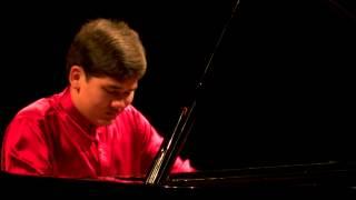 Tom De Beuckelaer (piano) - Nationale Finale Prinses Christina Concours 2014