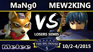 TBH5 – C9 Mango (Fox, Falco) Vs. CoG MVG | Mew2King (Marth) SSBM Losers Semis – Smash Melee