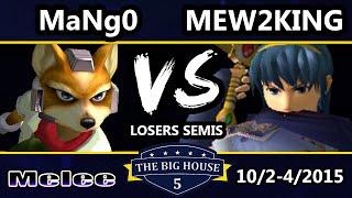 TBH5 – C9 Mango (Fox, Falco) Vs. CoG MVG | Mew2King (Marth) SSBM Losers Semis – Smash Melee