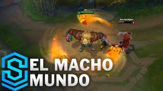 Chi tiết hình ảnh bộ trang phục mới Mun Đô Vật (El Macho Mundo)