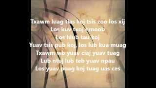 Pov Lis - Tsawg Tiam Los Hlub (Lyrics)