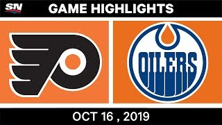 NHL Highlights | Flyers vs Oilers – Oct 16 2019 by Sportsnet Canada