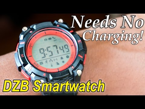 1500Rs Smartwatch that doesn't need charging | DZB Smartwatch Review