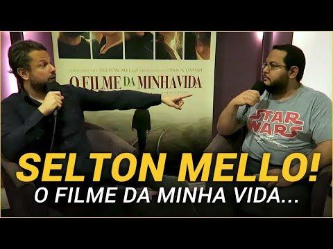 Entrevistei Selton Mello sobre O FILME DA MINHA VIDA