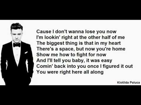Justin Timberlake – Mirrors LYRICS