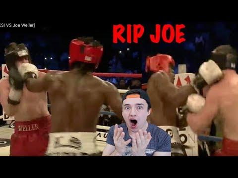 KSI VS JOE WELLER FIGHT HIGHLIGHTS! *Must See* Reaction (видео)