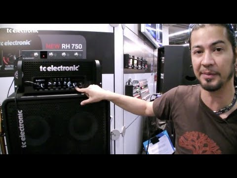 Uriah Duffy and Blacksmith bass amp from TC Electronic