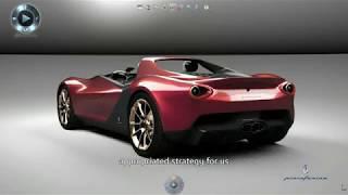 CATIA V6 - Industrial Design - Sergio by pininfarina