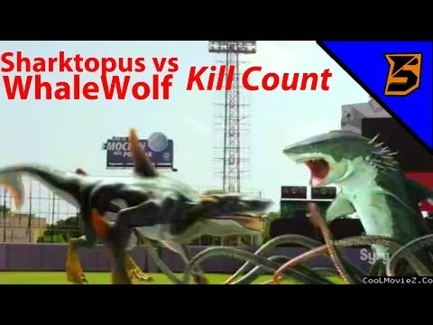 Sharktopus Vs Whalewolf-kill Count!