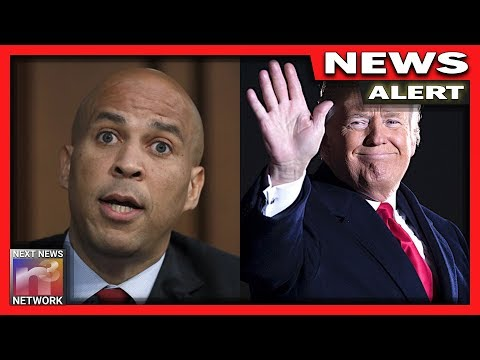EPIC! Trump Gives Cory Booker SAVAGE Send-off After He Drops Out of 2020 Dem Race