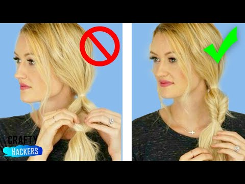 🔥 50 COOL HAIRSTYLE TRICKS AND HACKS 🔥 Amazing DIY Hairstyles Tutorial Compilation