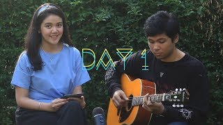 Day 1- HONNE ◑ (Acoustic Cover) by Vania x Levy