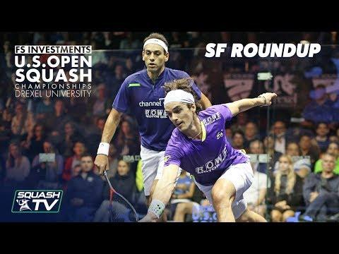 Squash: Men's Semi-Final Roundup - US Open 2018