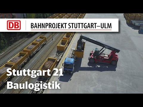 Zentrale Baulogistik Stuttgart 21 (Drohnenfilm)
