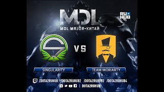 Singularity vs Team Moriarty, MDL EU, game 2 [GodHunt, Inmate]