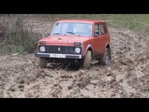 niva vs Pajero vs UAZ offroad mud