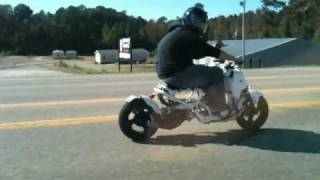 10. Project Zero - 125cc Honda Ruckus